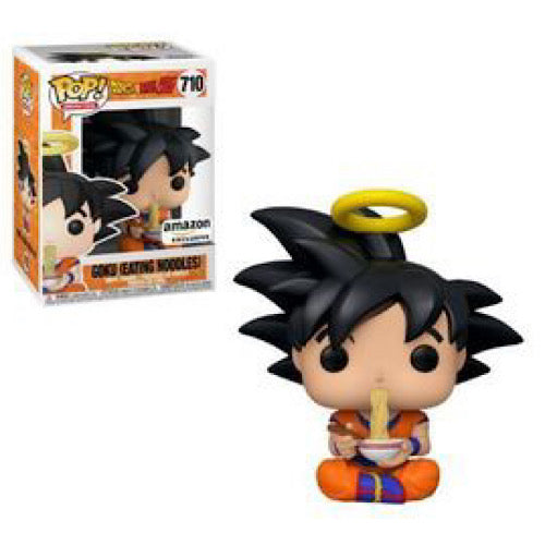 Goku (Eating Noodles), Amazon Exclusive, #710 (Condition 6/10)