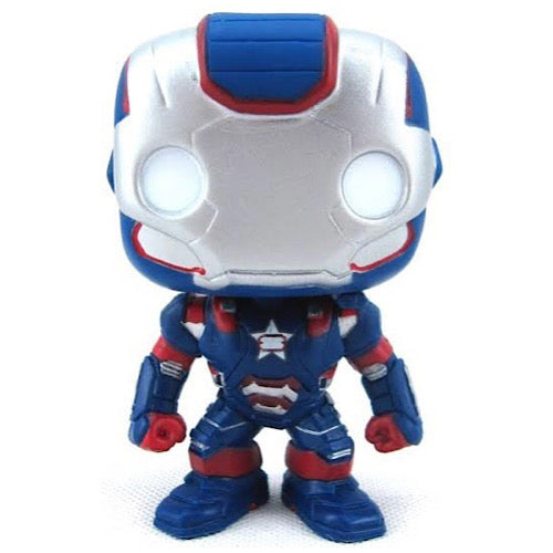 Iron Patriot, Bobble-head, #25, (Condition 7/10)