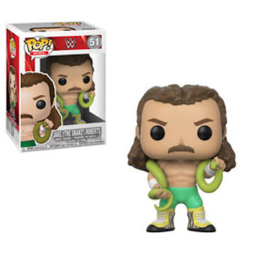 "Jake ""The Snake"" Roberts, #51, (Condition 7/10)"