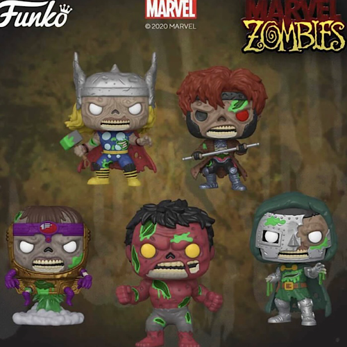 Pop! Marvel: Zombies S2