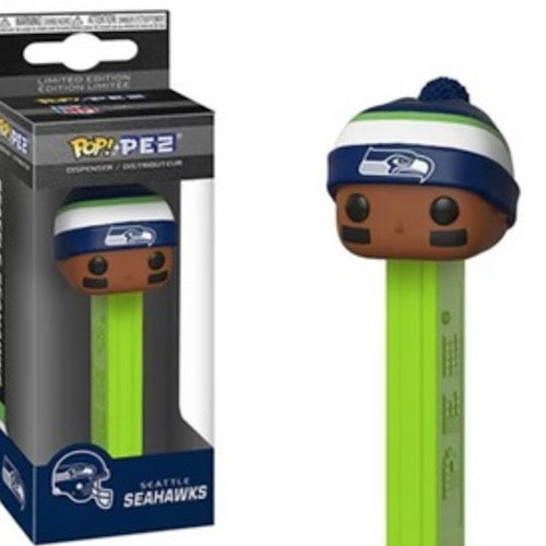 Funko PEZ: NFL - Seahawks (Beanie) Funko Pop! Pez: Toy - Smeye World
