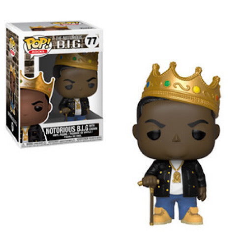 Notorious B I G, with Crown, #77, (Condition 8/10) - Smeye World