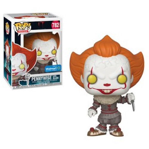 Pennywise, with Blade, Walmart Exclusive, #782, (Condition 6.5/10) - Smeye World