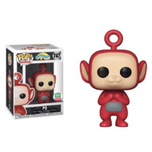 Po, Funko Shop Exclusive, #747, (Condition 9/10)