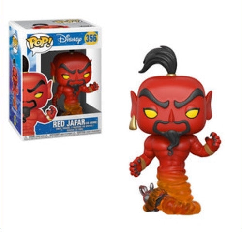 Red Jafar as Genie, #356, (Condition 8/10) - Smeye World