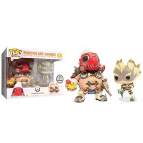 Roadhog and Junkrat, Funko Blizzard Entertainment Exclusive, (Condition 8/10) - Smeye World