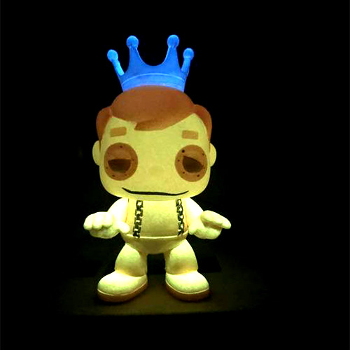 Smeye Anniversary Custom: Orange Glow Freddy Funko FrankenBerry - Smeye World