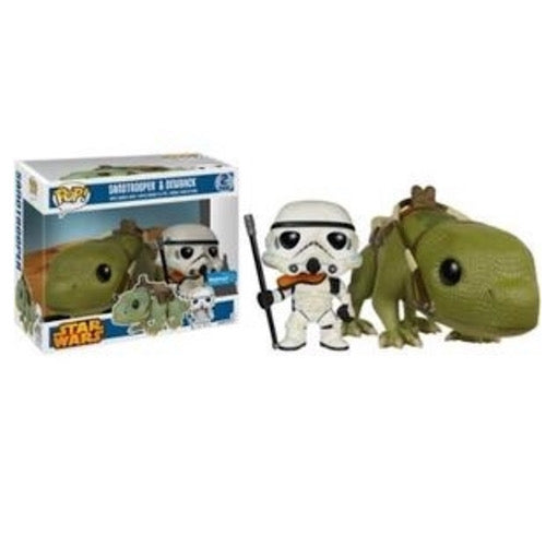 Sandtrooper & Dewback, Walmart Exclusive, (Condition 8/10) - Smeye World