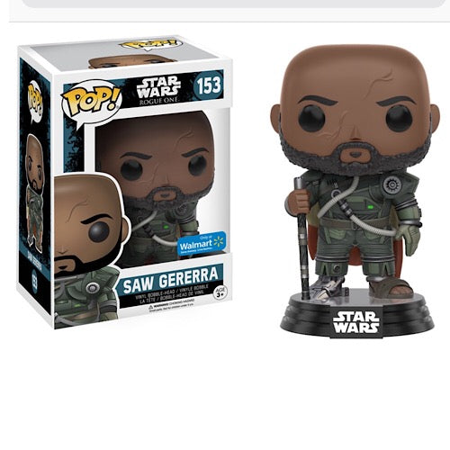 Saw Gererra, Walmart Exclusive, (Condition 8/10) - Smeye World