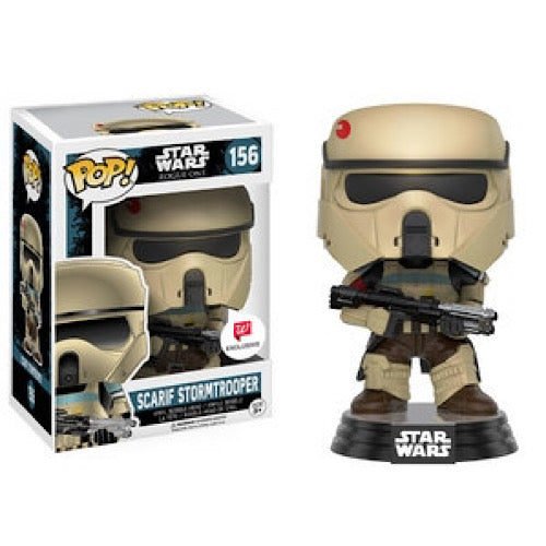 Scarif Stormtrooper, Walgreens Exclusive, #156, (Condition 8/10) - Smeye World