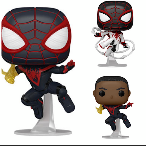 Spider-Man Miles Morales with Chase Set