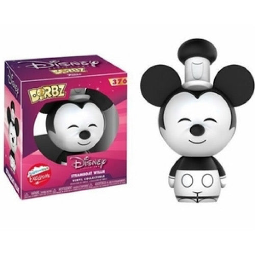 Steamboat Willie, 2017 Fugitive Toys Exclusive, #376, (Condition 6/10) - Smeye World