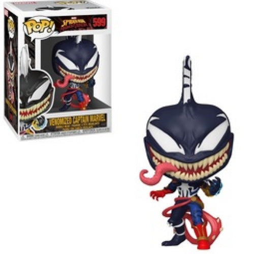 Venomized Captain Marvel, #599, (Condition 9/10)