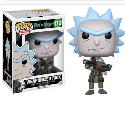 Weaponized Rick, (Condition 9/10) - Smeye World