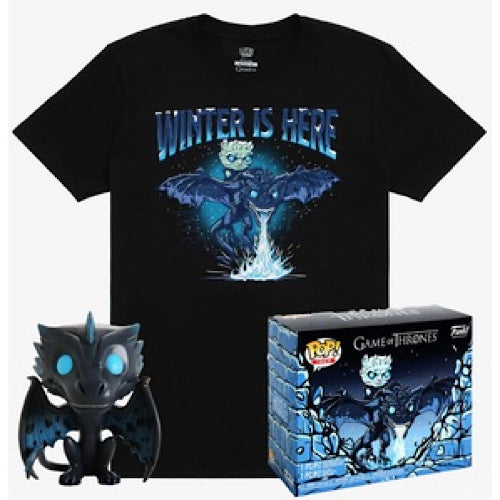 Winter is Here, Game of Thrones Pop! /W Tee, Glows in the Dark, Box Lunch Exclusive - Smeye World