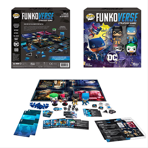 Funkoverse: Strategy-Game  Batman 100 (Base Game) - Smeye World