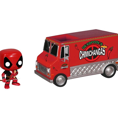 Deadpool's Chimichanga Truck, NYCC Exclusive, #10 (Condition 8/10)