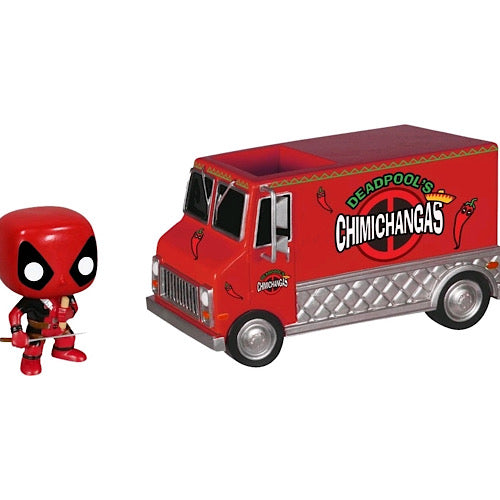 Deadpool's Chimichanga Truck, NYCC Exclusive, #10 (Condition 7/10)