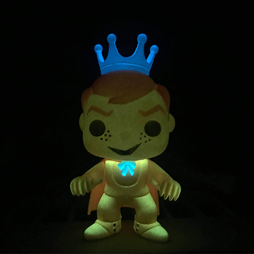 LE Custom Orange Glow Freddy Funko Count Chocula with Enamel Pin - Smeye World