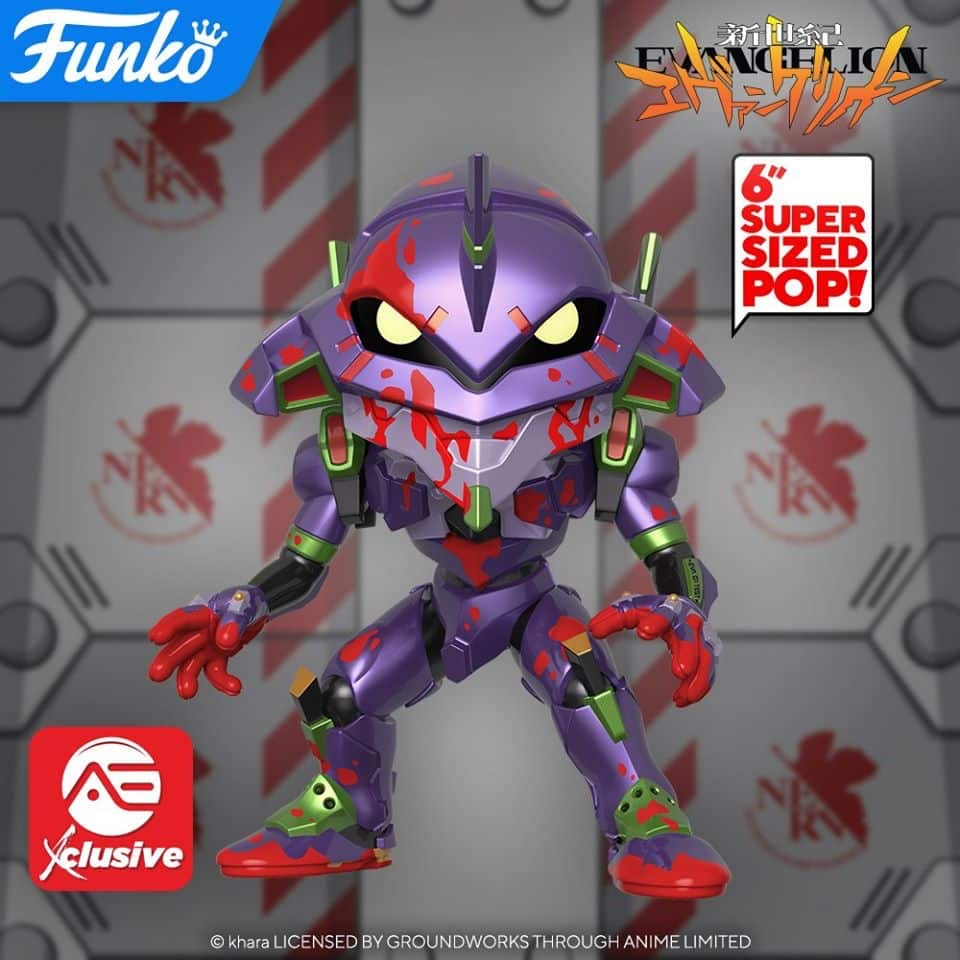 Evangelion Eva Unit 01 (Metallic/Bloody) 6-Inch  Alliance Entertainment Exclusive - Smeye World