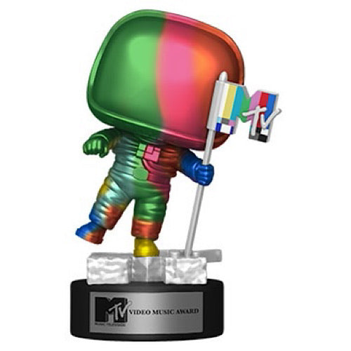 Pop! Ad Icons - MTV Moon Person (Rainbow/Metallic)