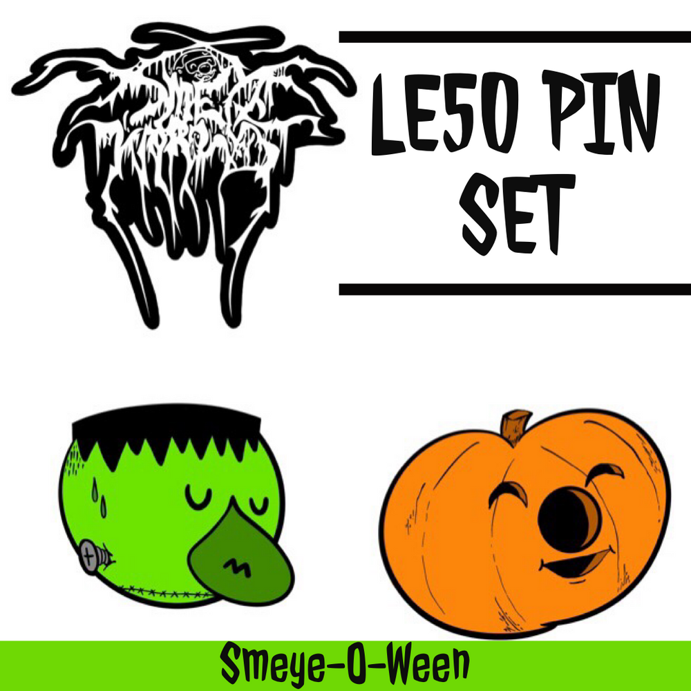 Smeye-O-Ween LE50 Pin Set - Smeye World