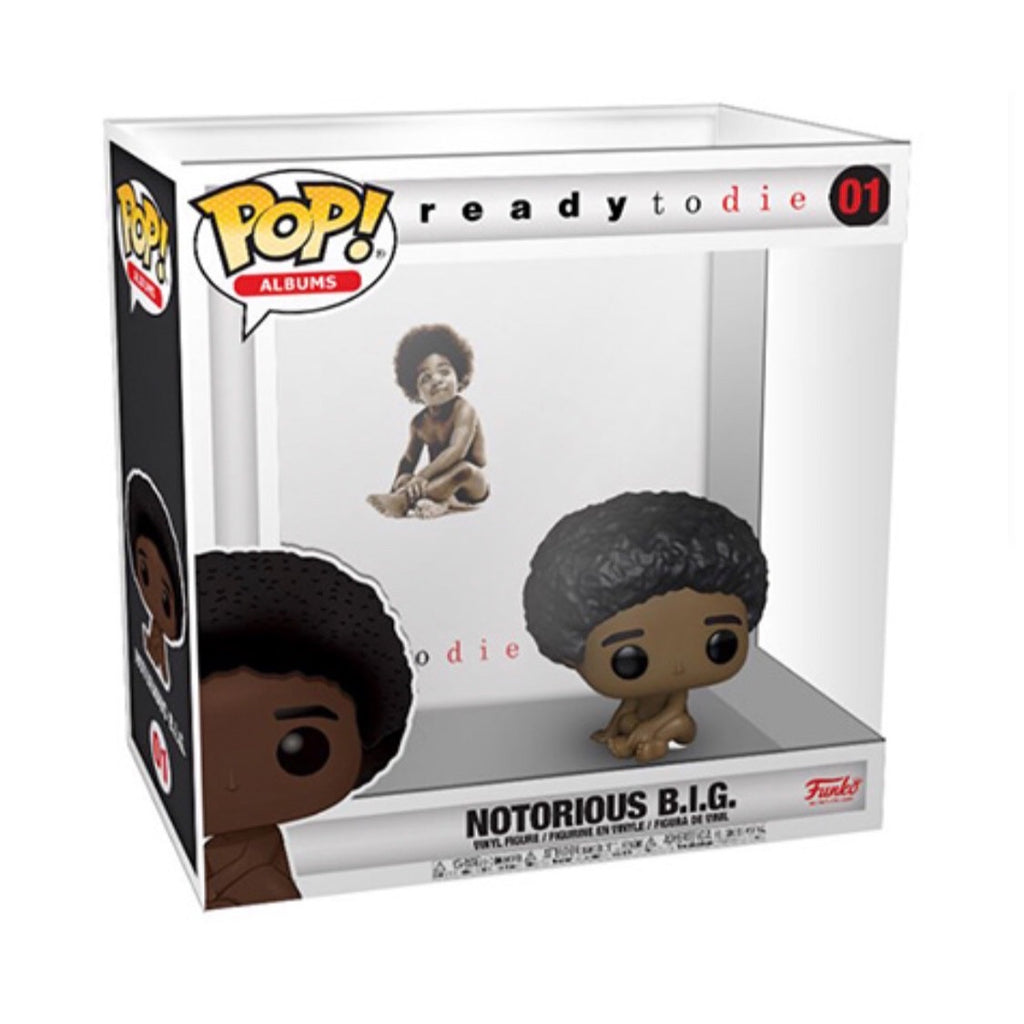 Pop! Albums: Biggie Smalls w/ Case - Smeye World
