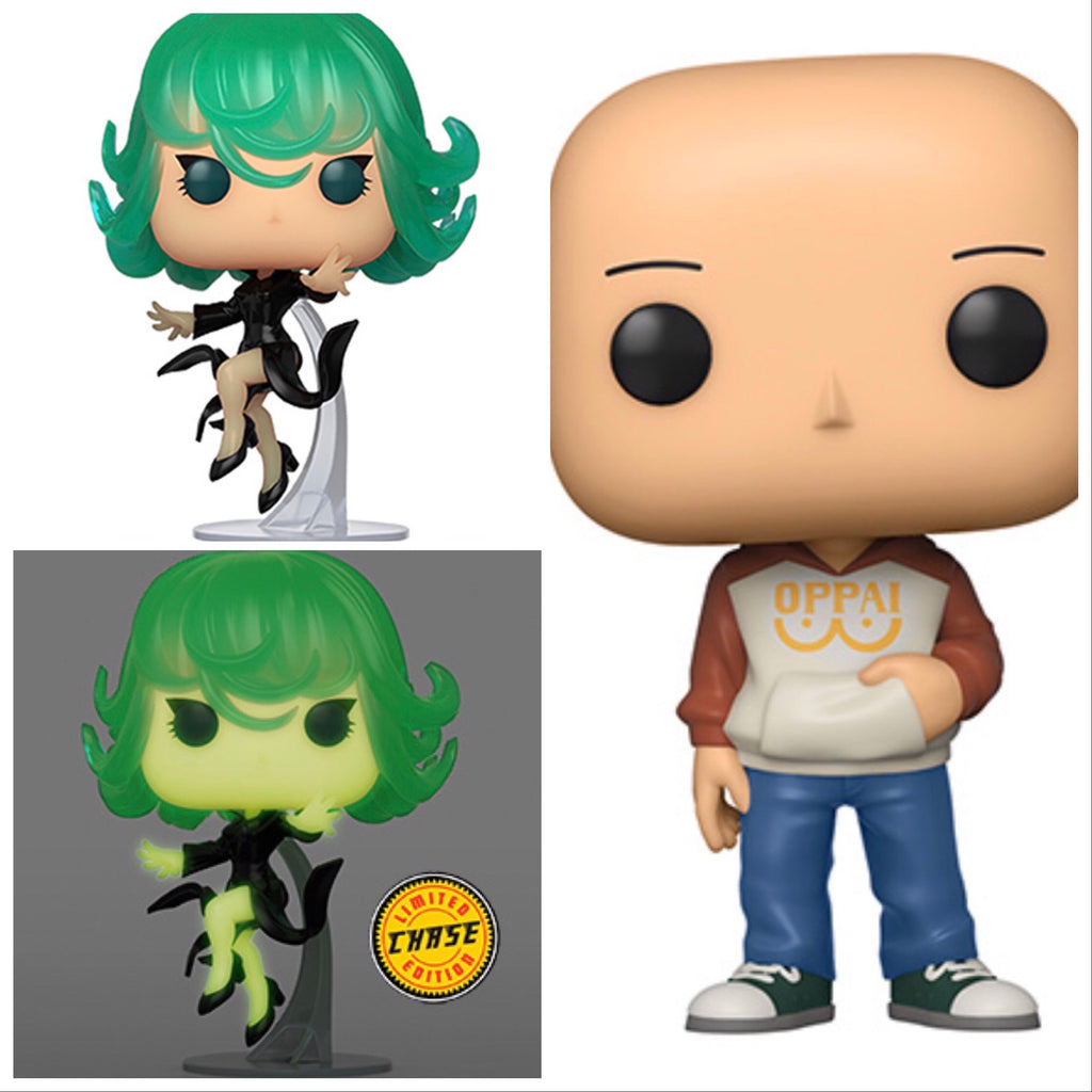 One Punch Man Set W Glow Chase - Smeye World