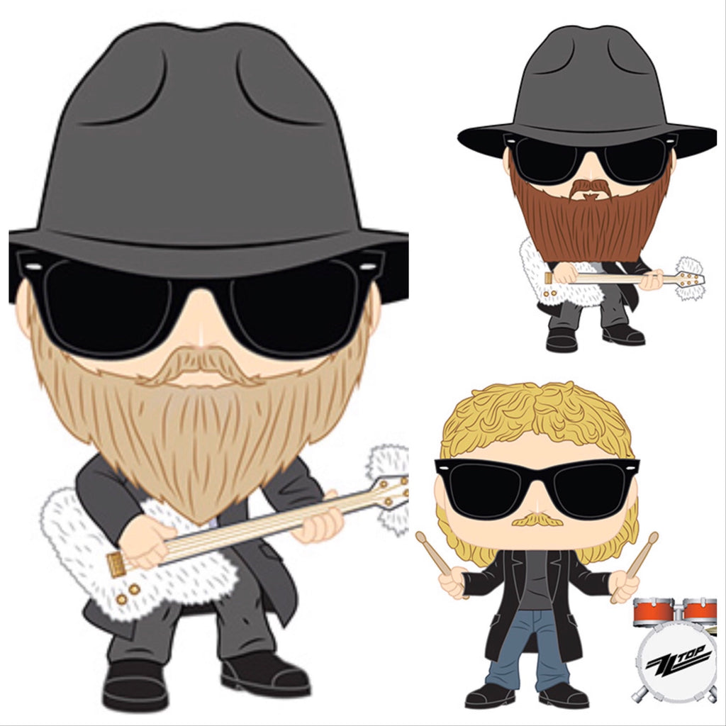 ZZ Top Set - Smeye World