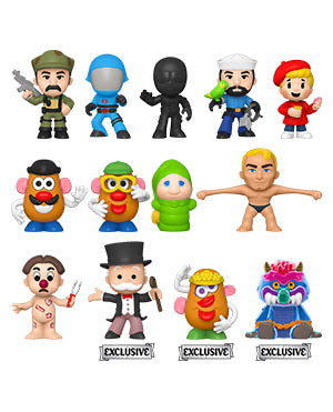 Specialty Series Hasbro Retro Toys Mystery Mini Case (12)