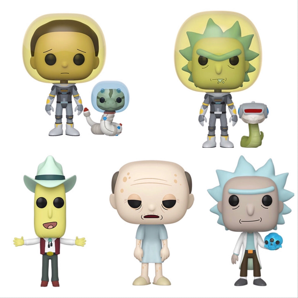 Rick And Morty Set - Smeye World