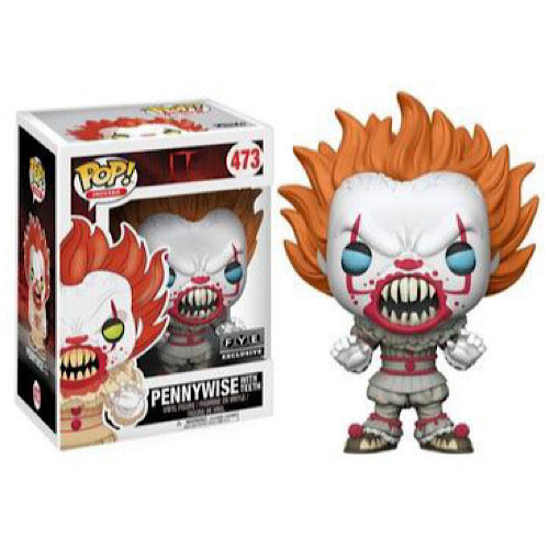 Pennywise With Teeth, FYE Exclusive, #473 (Condition 6/10)