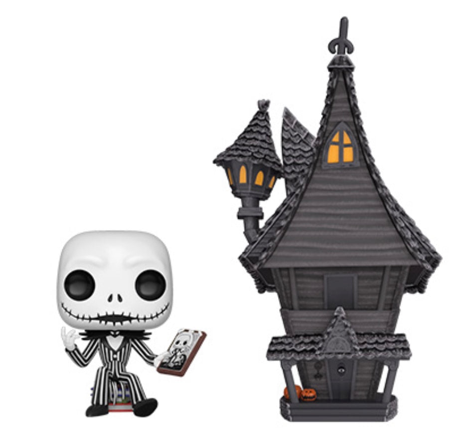 Jack Skellington & Jack's House - Smeye World