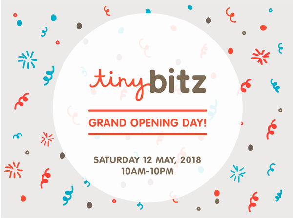 IT'S OUR GRAND OPENING DAY!