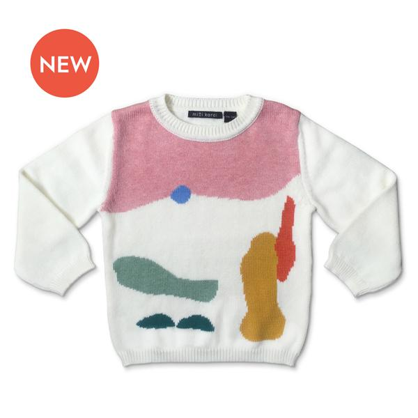 Mini Kardi :Painting Sweater