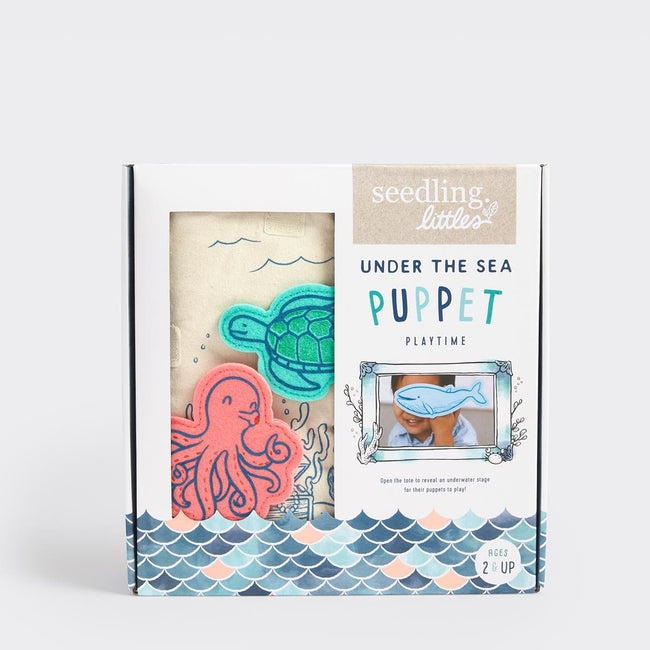Seedling:  Under the Sea Puppet Playtime