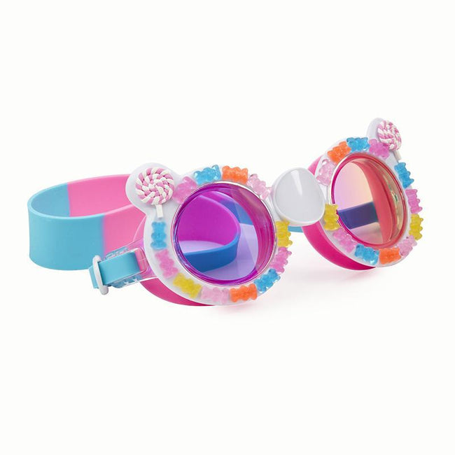 "Bling2o: '' Sugar Rush Gummy Bear""Swim Goggles (Cotton Candy Pink/Blue )"