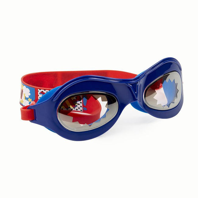 "Bling2o: ""Marvelous""Swim Goggles (Super Dude Navy/Red)"