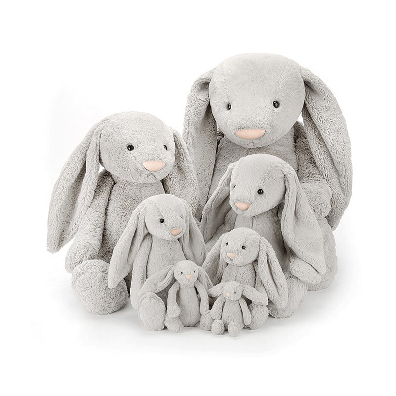 Jellycat Soft Toy: Bashful Bunny (Silver)