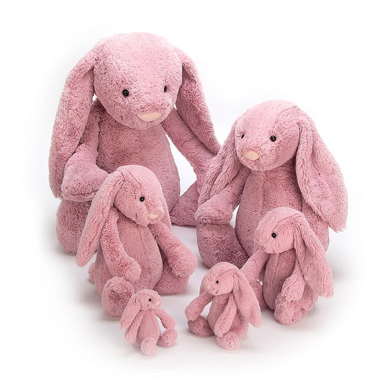 Jellycat Soft Toy: Bashful Bunny (Tulip Pink)
