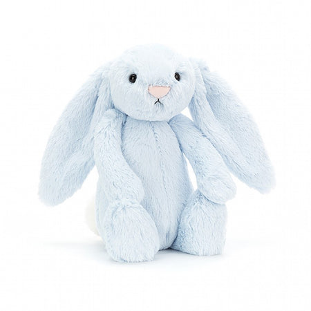 Jellycat Soft Toy: Bashful Bunny (Blue)