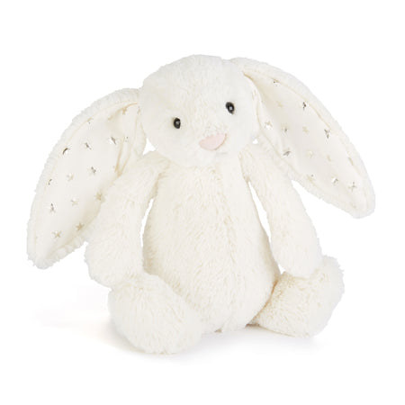 Jellycat Soft Toy: Bashful Bunny (Cream with Twinkle)