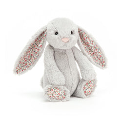 Jellycat Soft Toy: Blossom Bunny (Silver)