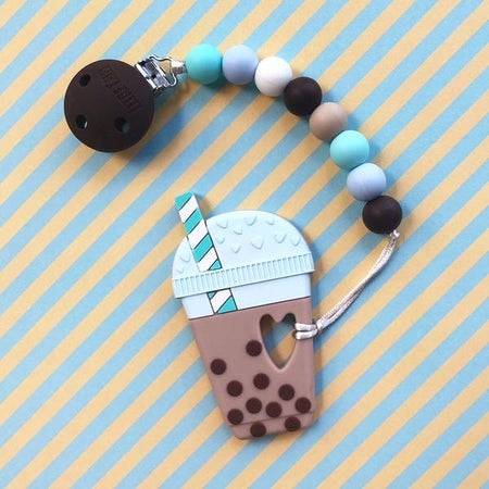 Little Caleb: Bubble Tea Teether(Chocolate)