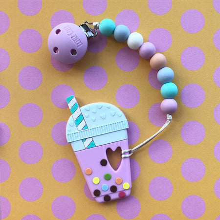 Little Caleb: Bubble Tea Teether(Taro)