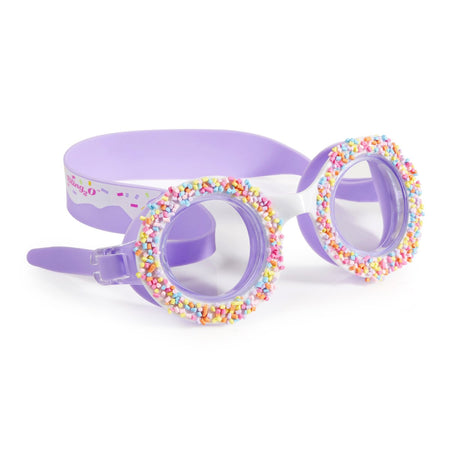Bling2o: 'Do Nuts 4 U' Swim Goggles (Grape Jelly)