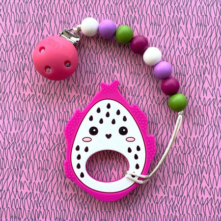 Little Caleb: Cute Dragon Fruit Teether