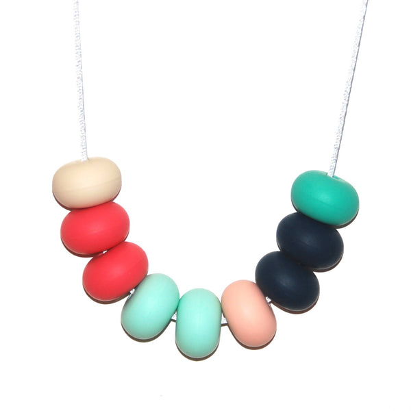 Tiny and I: Teething Necklace - Tahiti