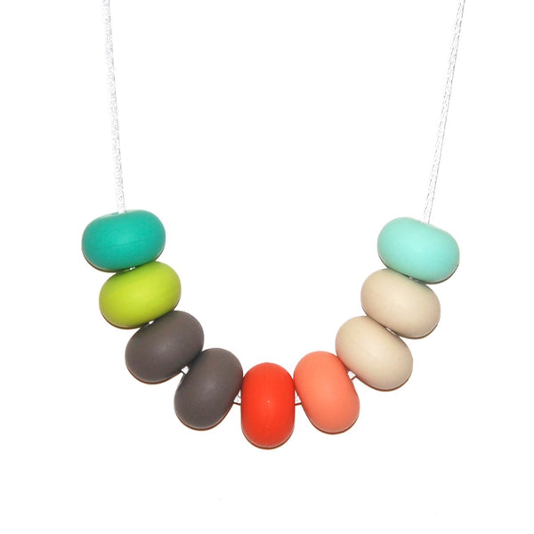Tiny and I: Teething Necklace - Miami