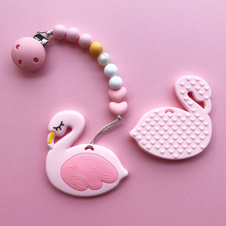 Little Caleb: Flamingo Teether